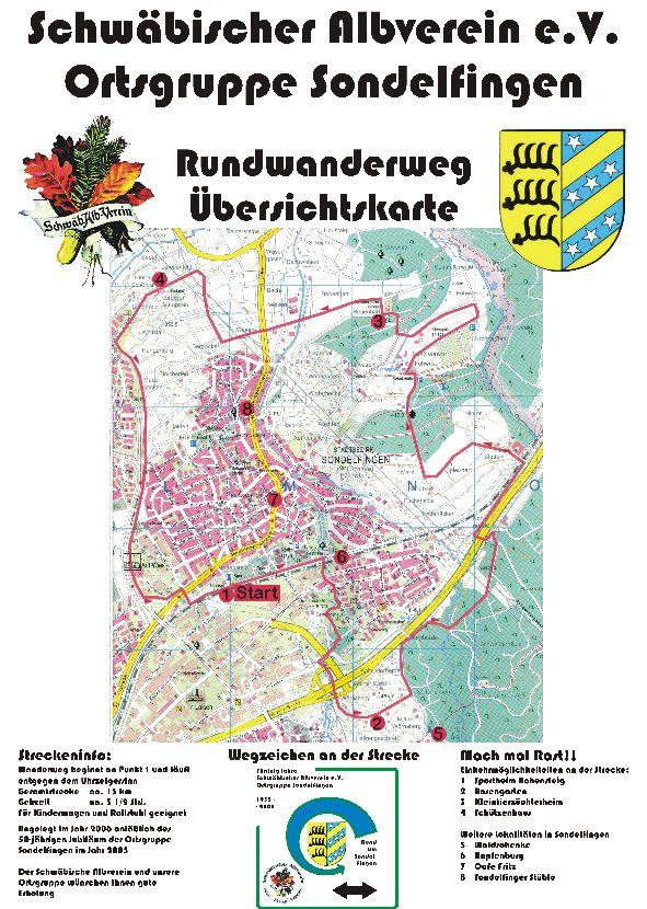 Rundwanderweg Tafel